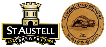 st austell brewery - wooden hand brewery