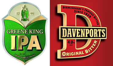 greene king IPA - highgate davenports